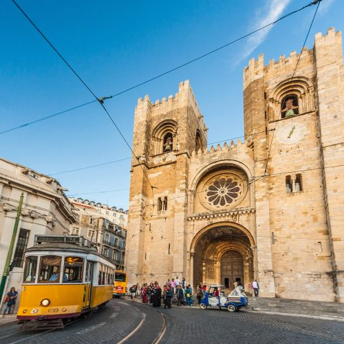 Just Tuk It Tour at Lisbon Cathedral